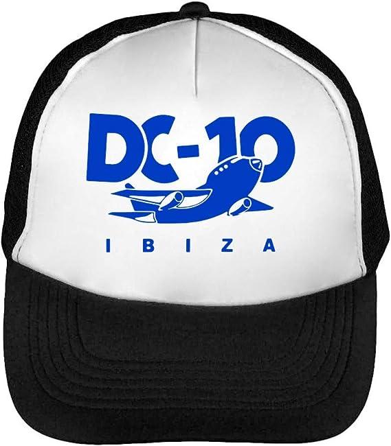 Circoloco Ibiza Gorras Hombre Snapback Beisbol Negro Blanco ...