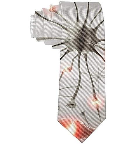Corbata de virus de corbata de moda para hombre Corbata de un ...