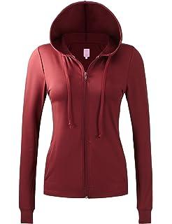 Amazon.com: Chaqueta con capucha para mujer, multicolor ...
