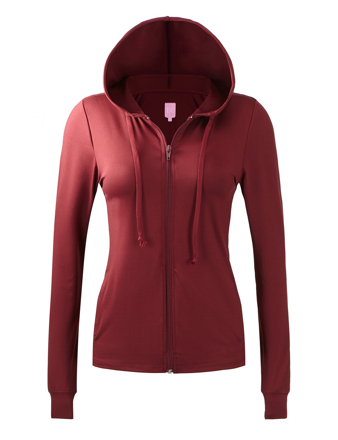 Regna X No Bother Womens Lightweight Performance Full Zip up Hoodie Jacket