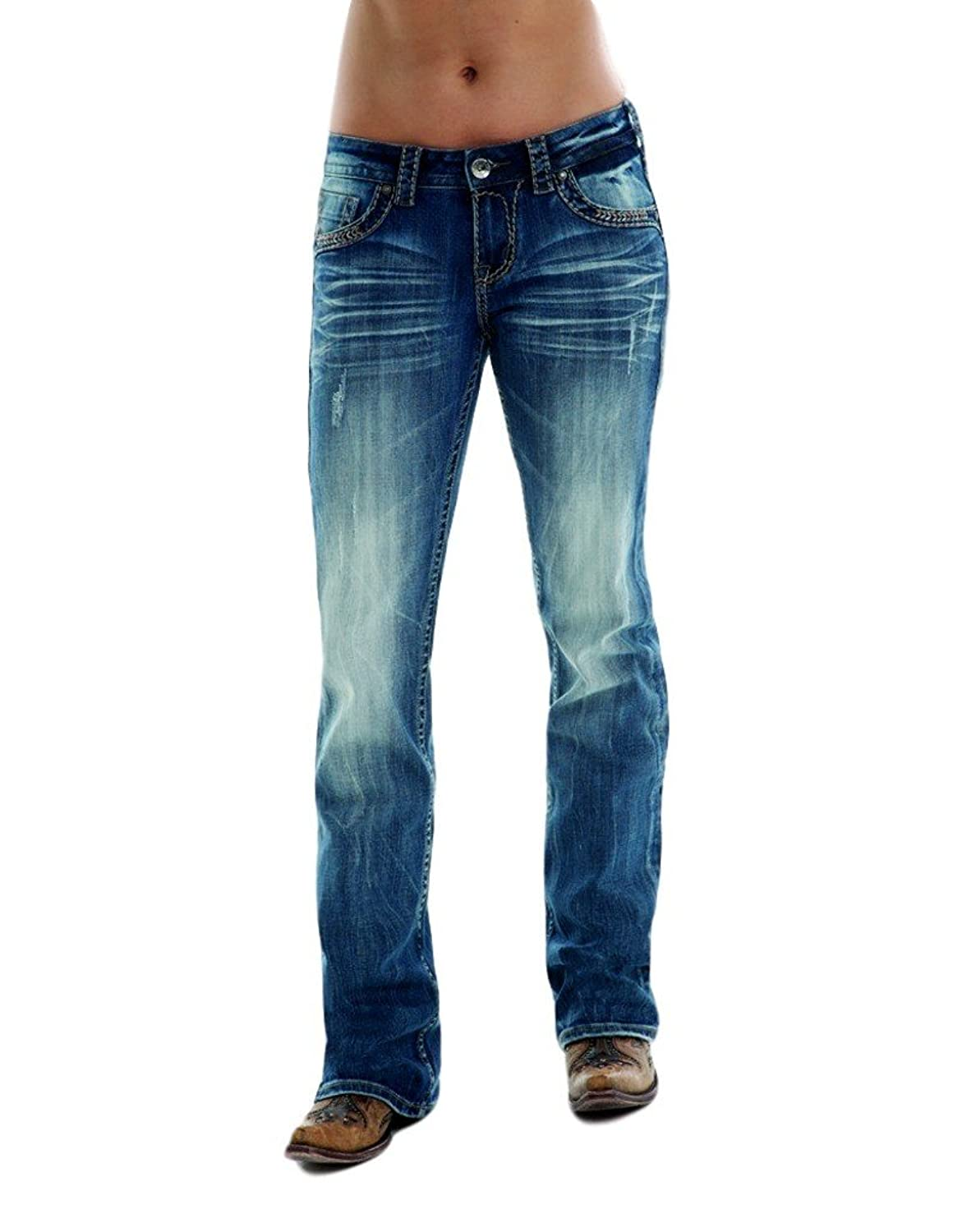 Cowgirl Tuff TWISTED METAL Jean - JTWMET