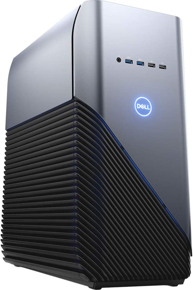 Dell Inspiron 5680 Gaming Desktop Computer Intel Core i5 8GB RAM 1TB HD Recon Blue - 8th Gen i5-8400 Hexa-core - NVIDIA GeForce GTX 1060 3GB - 2.8 GHz processor speed - Polar Blue LED lighting - Wi