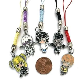 Anime Death Note Character - Llavero con colgador de mochila ...