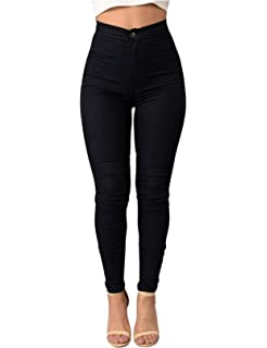 Letuwj Womens Ripped Slim Jumpsuit Pants