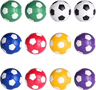 LIOOBO Accessoire 24pcs de Table de Jeu de Football de Table de Boules de Rechange de Foosballs de Table