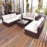 DIMAR garden Outdoor Coffee Table Wicker Patio