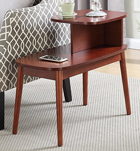 Convenience Concepts Maxwell Mid Century Accent End Table,...