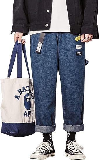 GLESTORE(グラストア) ジーンズ メンズ デニム パンツ ワークパンツ カジュアル ダメージ 加工 ジーパン