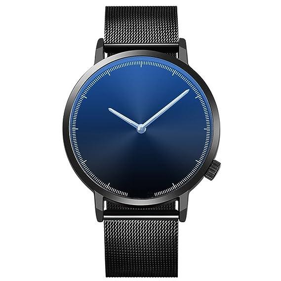JiaMeng Reloj de Pulsera de Cuarzo analógico de Acero Inoxidable con Cuarzo Dorado para Mujer(A): Amazon.es: Ropa y accesorios