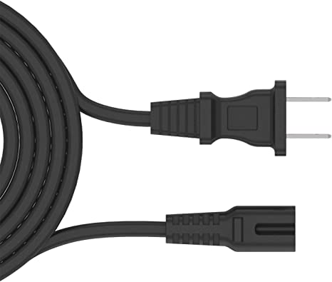 12 Feet 2 Prong Extra Long AC Wall Cord for Epson Canon Lexmark Brother Printer