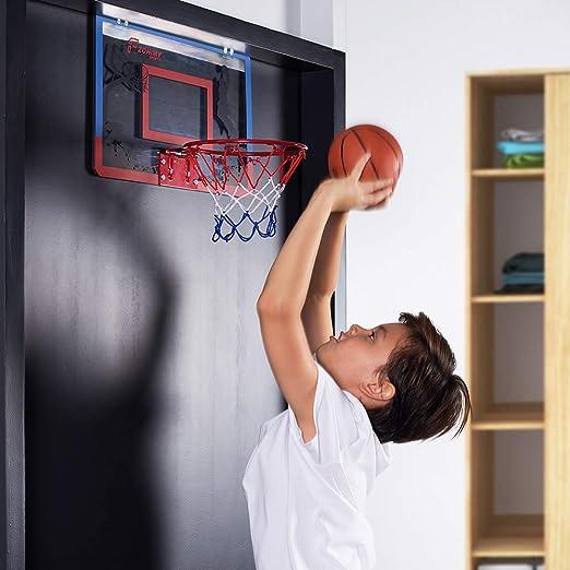 Amazon.com: Fzohimy - Mini aro de baloncesto con bola de ...