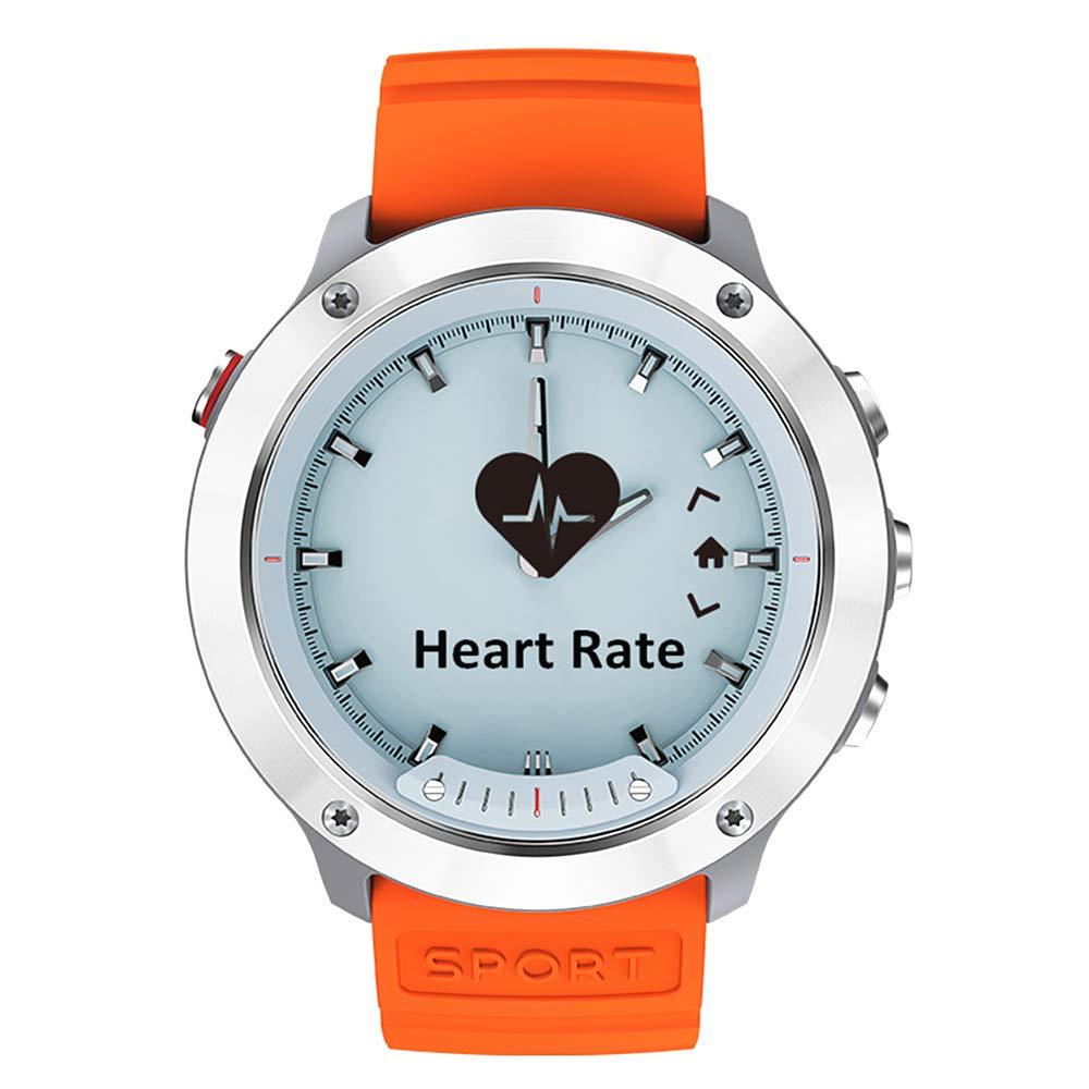 M5 Hybrid Smart Watch Sports Smartwatch for Men & Women with Transparent Screen/5ATM Waterproof/Activity Tracker Step Counter/Heart Rate & Sleep ...