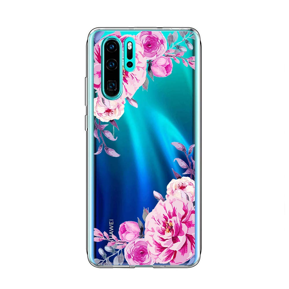 coque huawei p30 motif floral