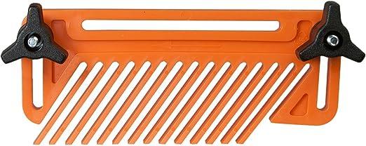 Plastic Feather Loc Board,station/äre Schneidwerkzeuge f/ür die Holzbearbeitung Mehrzweck-Sicherheitsplatte f/ür die Holzbearbeitung Bands/ägen Gleitschienen und mehr f/ür Tischs/ägen Featherboards Set