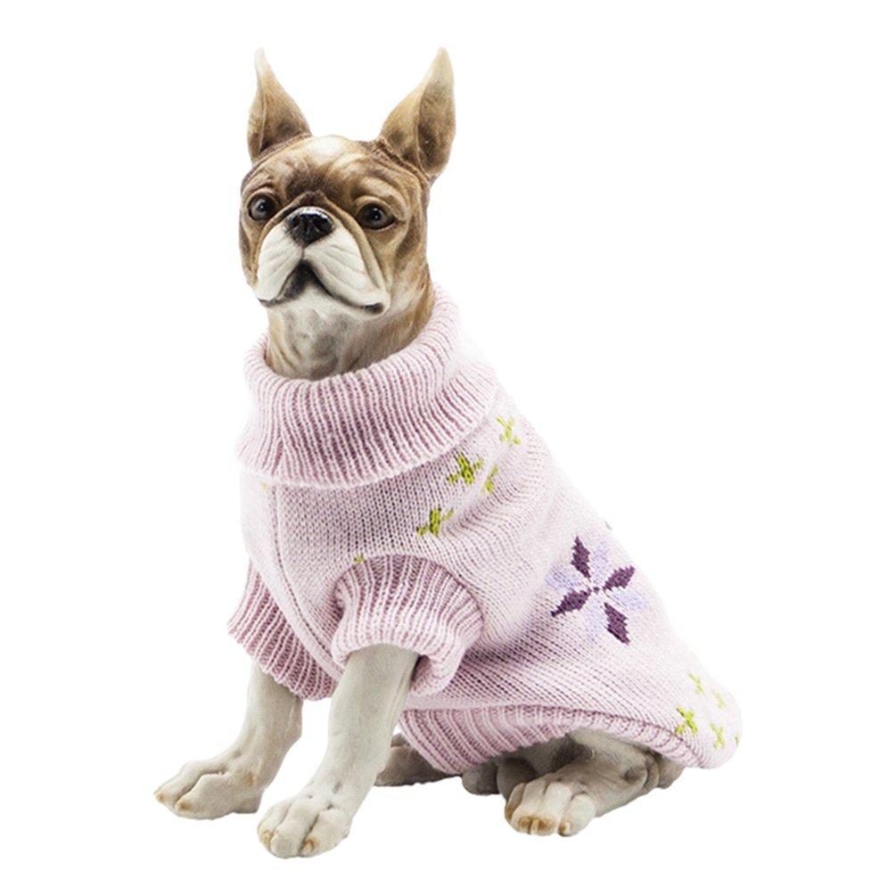 YiJee Kleine Hundchen Atmungsaktiv Gestrickte Pullover Haustier Hund Halloween Warme Kleidung