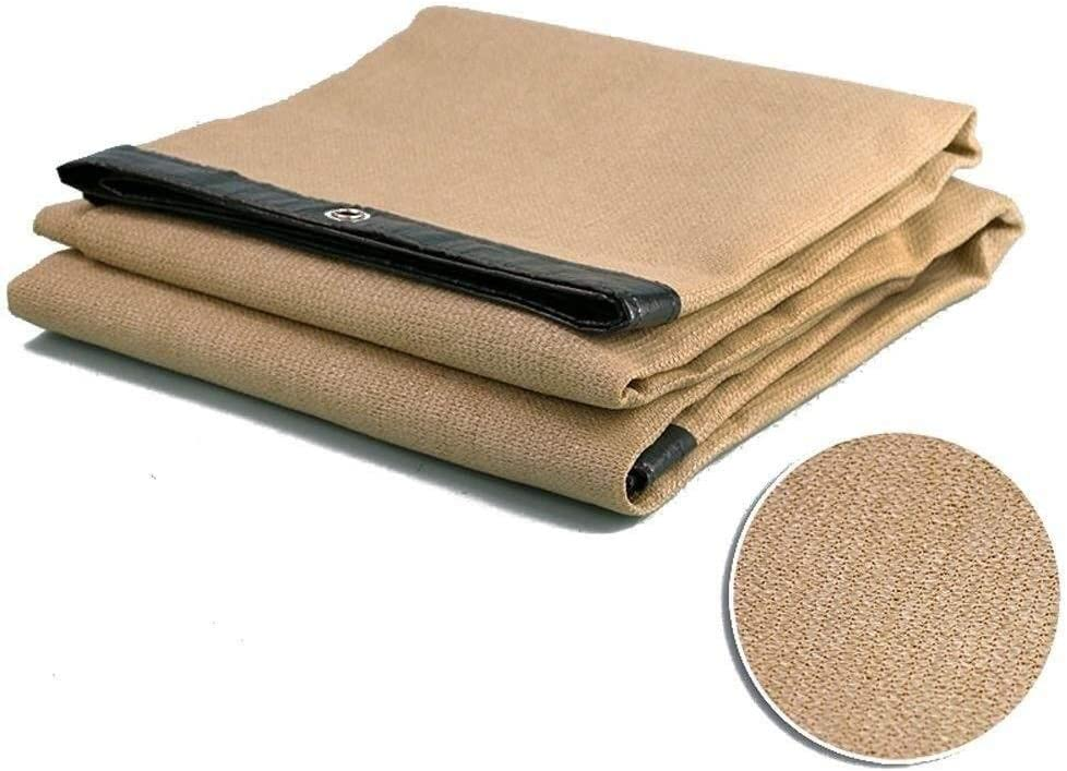 XHLJ Heavy Duty HDPE Sunscreen Sun Shade Cloth Sunblock Shade Cloth Sun Shade Sail with Grommets for Outdoor Garden Patio Yard (Size : 4x3m)