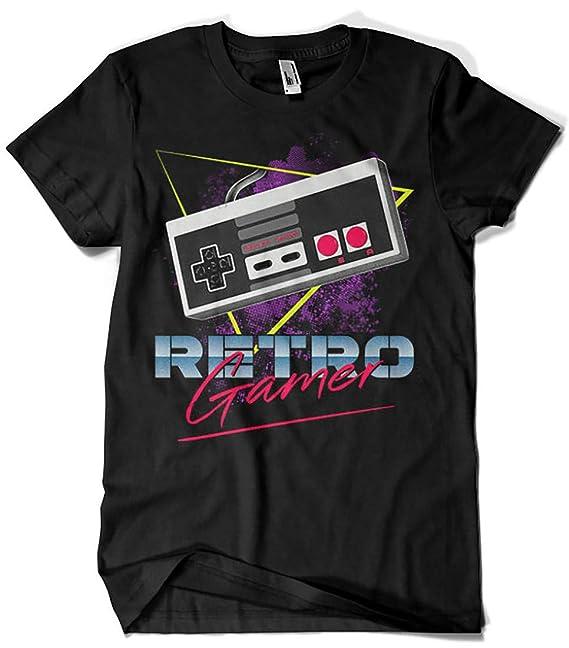 Camisetas La Colmena 4738-Retro Gamer (DDjvigo): Amazon.es: Ropa y accesorios