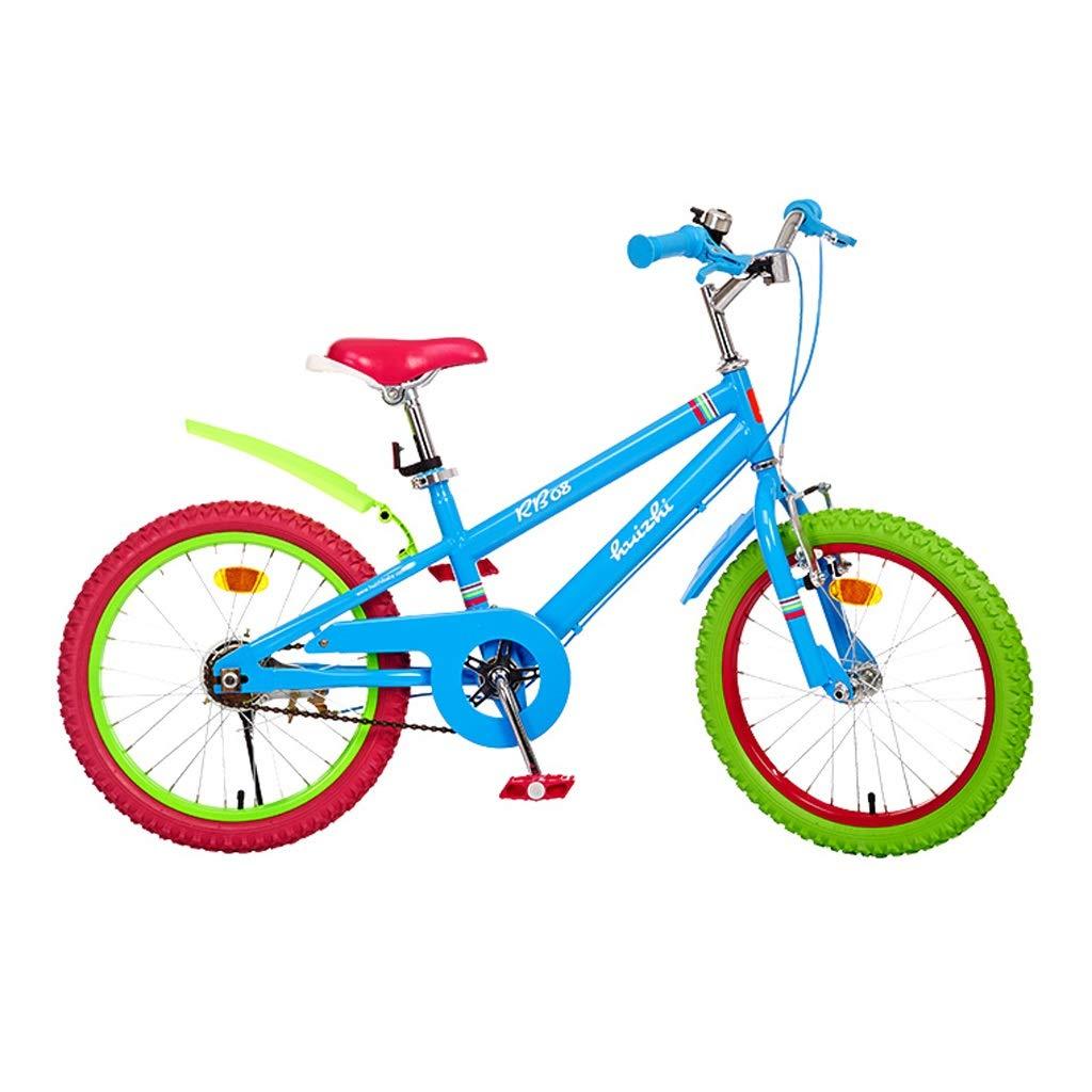 子供用自転車 6-14 男の子と女の子 自転車 16インチ / 18インチ 高炭素鋼フレーム 18 inches abc123456 18 inches  B07H5C63VJ