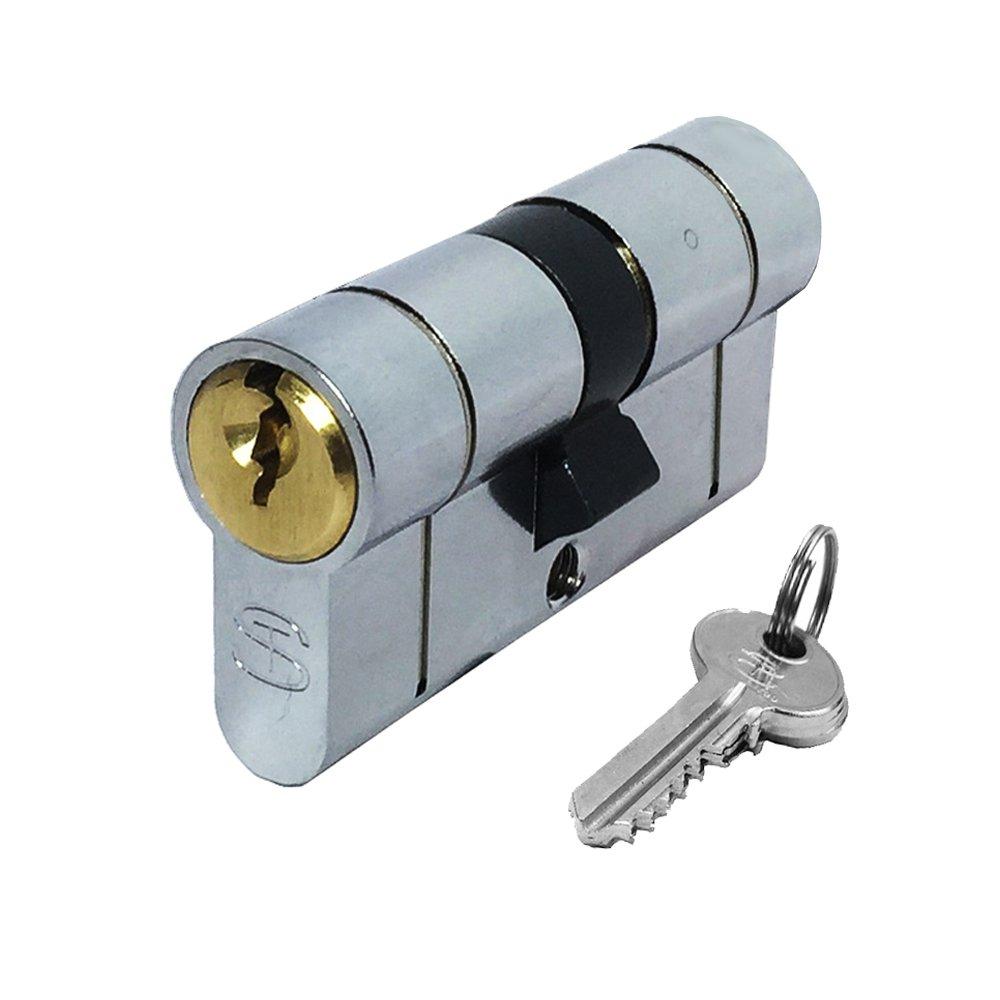 Anti-Snap Euro Profile Cylinder - UPVC Door Lock - Dual Finish - Schlosser Technik Ultimate² - 40/60