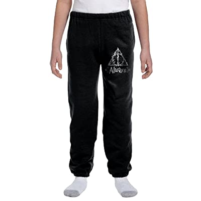 Always Harry Potter Youth Basics Fleece Pocketed Sweatpants