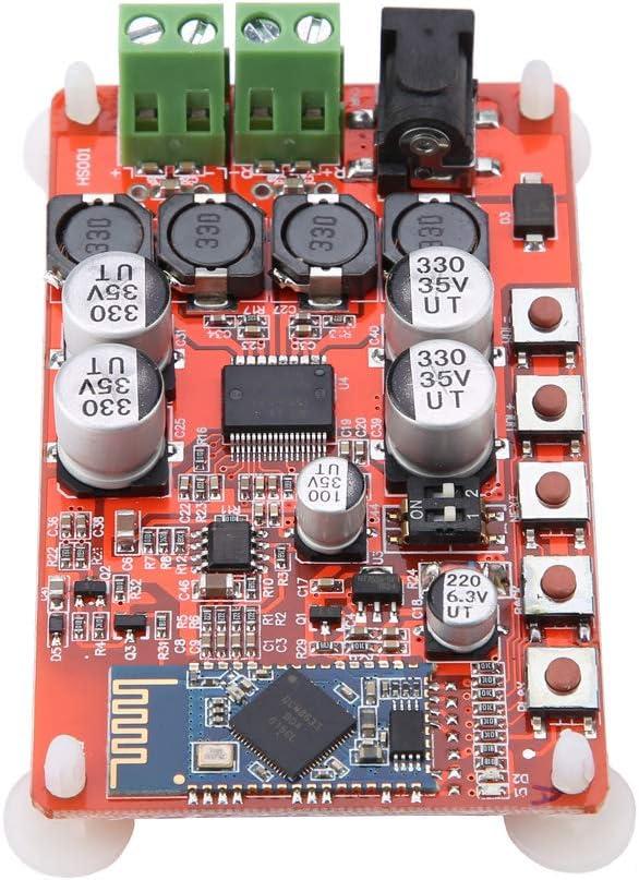 T opiky Placa amplificadora de Audio Bluetooth, TDA7492P 50W * 2 Módulo de Tarjeta amplificadora de Receptor de Audio Bluetooth inalámbrico estéreo de Doble Canal, para Altavoz de 4/6/8/16Ω