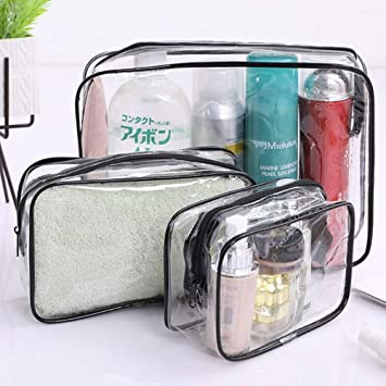 Amazon.com: LYX - Juego de 3 bolsas de cosméticos ...
