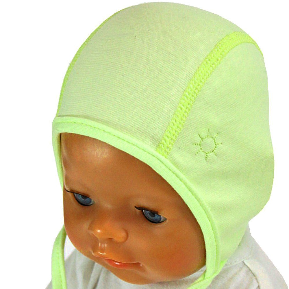 Sterntaler Baby Mütze  Babymütze Jersey Übergangsmütze  Zipfelmütze Jerseymütze