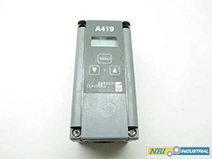 Johnson controls a419abc-1 C termostato electrónico, 1/4 x 2 Temp -