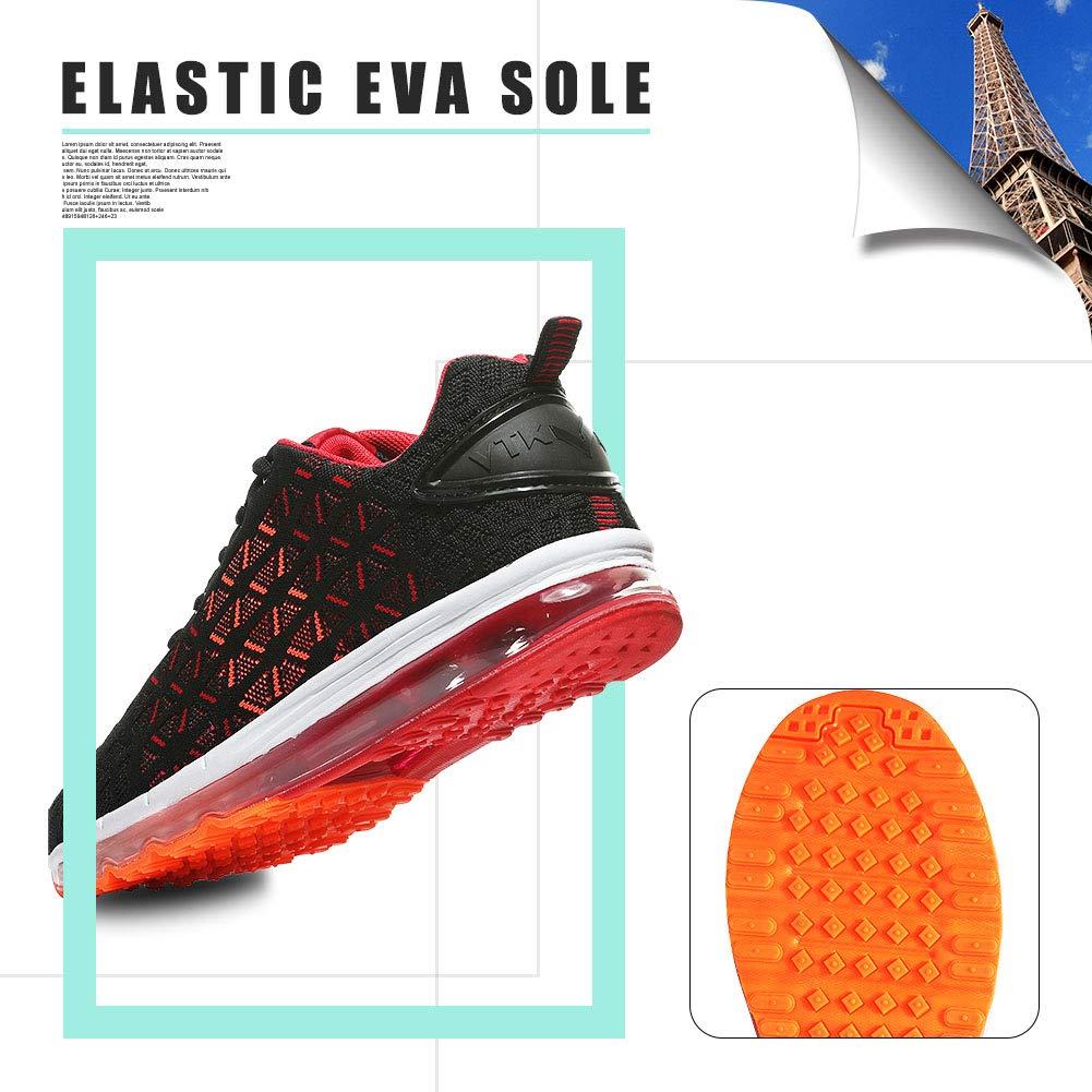 Zapatillas Deporte Hombre Zapatos para Correr Athletic Cordones Air Cushion Running Sports Sneakers