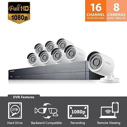 Amazoncom Sdh C75083 Samsung Wisenet 16 Channel Full Hd Video