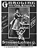 Gasoline and Oil Stoves - 1901: Standard Lighting Company Trade Catalog