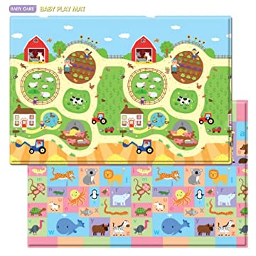 Baby Care Play Mat Busy Farm Large Gosale Price