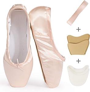 TXJ Sports Ballet Shoes Pink Point