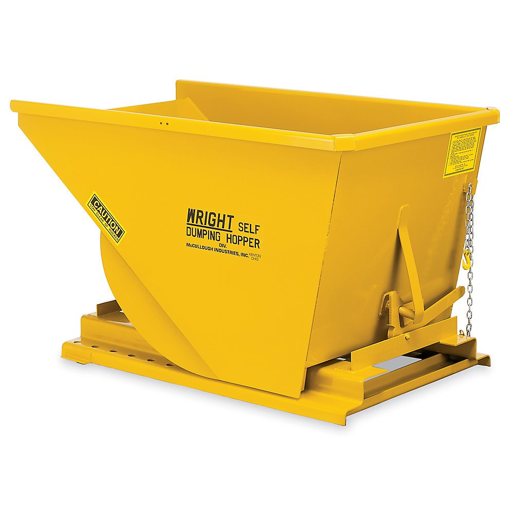 Small Product Image of Wright 2 Cu Yd. Self-Dumping Hopper