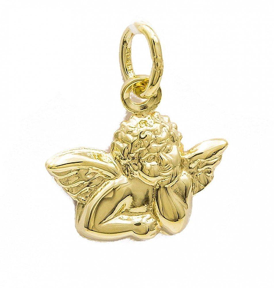 ASS 333 Gold Anhänger Engel,Schutzengel,Kettenanhänger,mattiert Kettenanhänger Alex-Super-Schmuck.de CDCW/39341/09