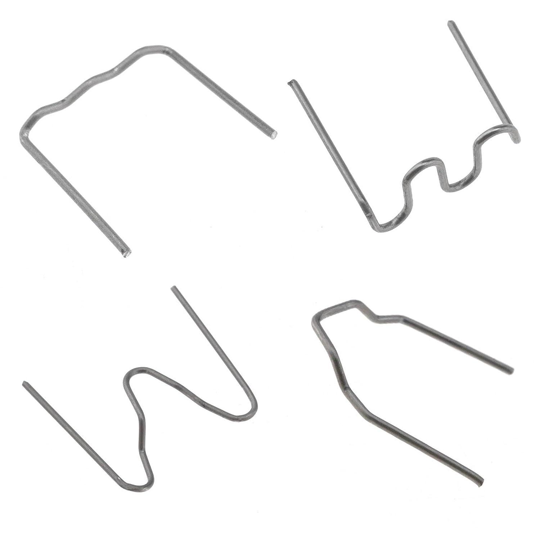 ENET Agrafes Chaudes dacier Inoxydable pour la soudeuse en Plastique de r/éparation dagrafeuse de Pare-Chocs de Voiture