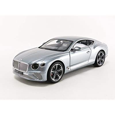 Norev 2020 Bentley Continental GT Metallic Gray 1/18 Diecast Model Car 182780: Automotive
