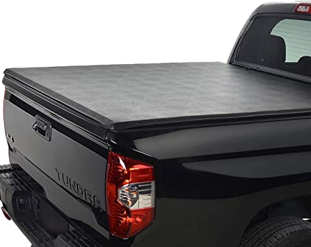 Amazon Com Mgpro 1pc Lock Roll Up Soft Tonneau Cover Top Mount Assembly W Rails Direct Clamp On Cover Truck Bed For 2017 2018 2019 2020 Honda Ridgeline Easy Installation Automotive