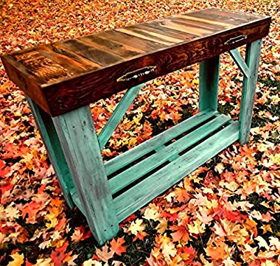Reclaimed Wood Sofa Table | Entry Table | Side Table