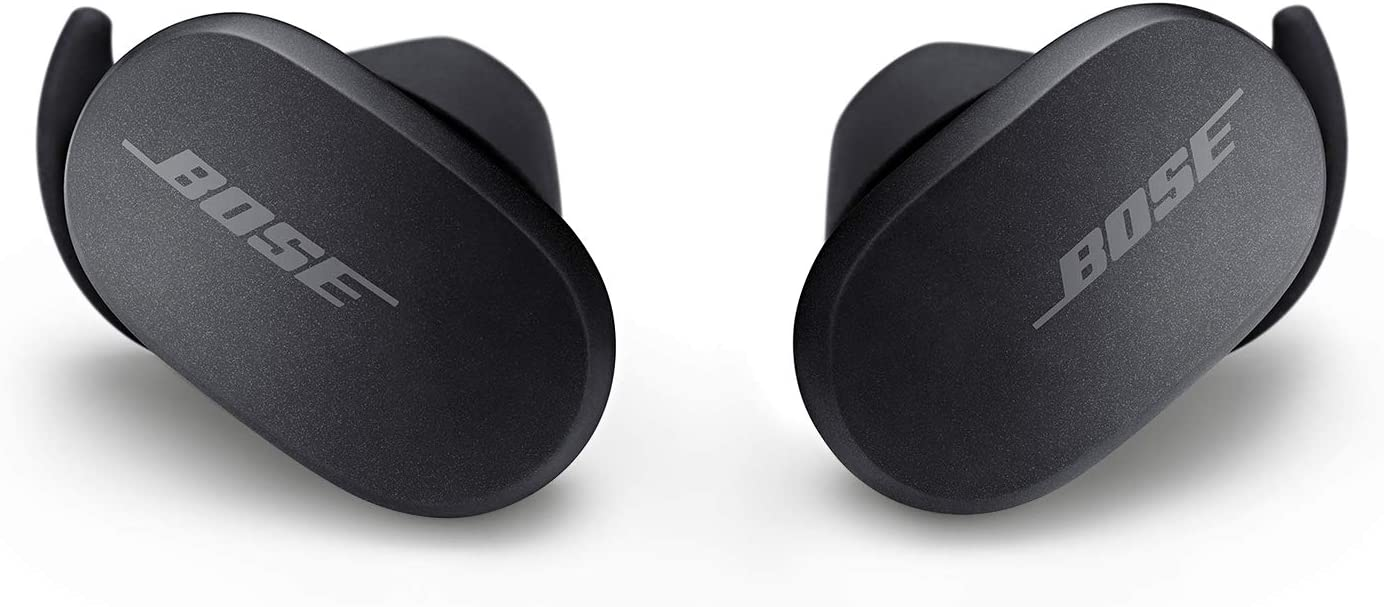 Bose QuietComfort Noise Cancelling Earbuds – Auriculares Realmente inalámbricos, Triple Midnight