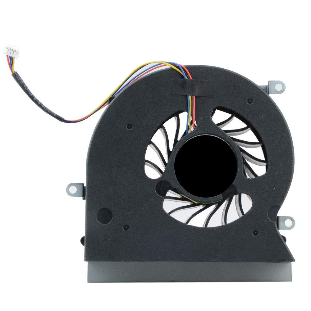 Asdomo Ventilador para CPU MSI 16L1 16L2 GT62