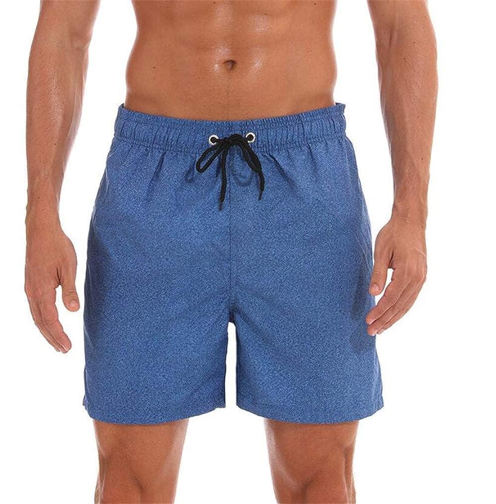LYLIFE Mens Beach Board Shorts Trunks Swimwear Casual Active Sweatpants Fashion Beach