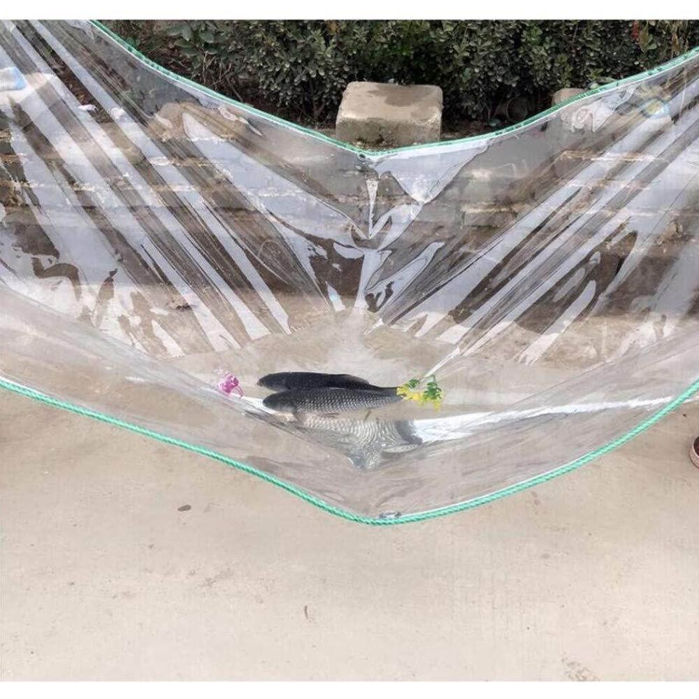 23m YU-BY La bÂche Transparente   350G   m2 épaisse de PVC Clair recouvrent Le Toit imperméable à la Maison de bÂche de bÂche de Prougeection pour Animaux domestiques,2  3m