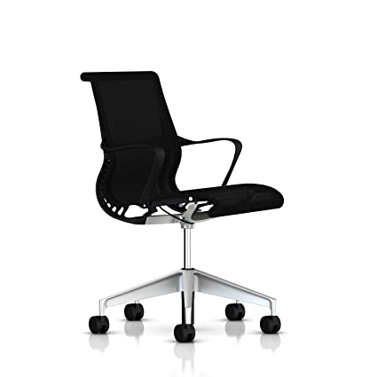 Herman Miller Setu Chair Ribbon Arms - Standard Carpet Casters - Graphite Frame/5  sc 1 st  Amazon.com & Amazon.com: Herman Miller Setu Chair: Ribbon Arms - Standard Carpet ...