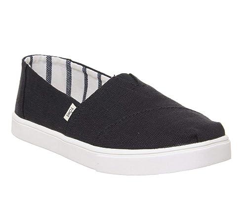 72ab81f2f TOMS Women Alpargata Black Espadrilles: Amazon.co.uk: Shoes & Bags