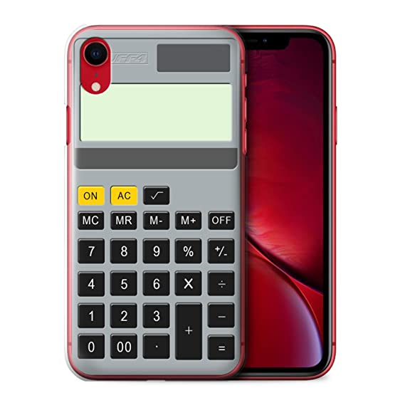 Amazon com: STUFF4 Phone Case/Cover for Apple iPhone XR/Calculator