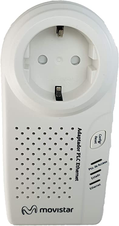 Alpha Adaptador PLC Ethernet (Movistar): Amazon.es: Electrónica