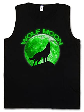 f6ffd3a1f1796 Wolf Moon Men Tank Top Training Gym Vest Shirt – Pleine Lune Type  Lycanthrope Werewolf The