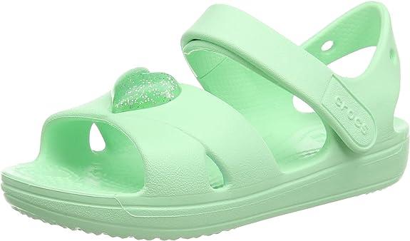 Crocs Unisex Kids' Classic Cross Strap Sandal Ankle,Crocs,206245-4O9