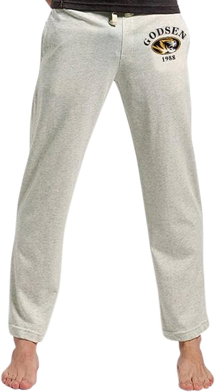 Godsen Mens Comfy Jersey Cotton Knit Pajama Lounge Sleep Pajama Bottoms Pant